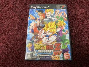 PS2 プレイステーション2 PlayStation2 ソフト カセット ドラゴンボールZ スパーキング ネオ