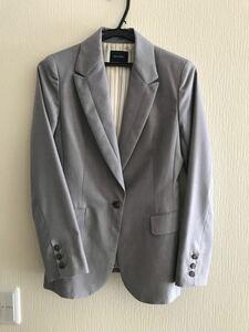 テーラードジャケット ライトグレー M
