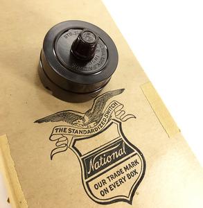 【デッドストック!】1930'sアンティークスイッチ/壁付け/ビンテージ/デスクライト/店舗什器/ペンダントライト/照明/gras/o.c.white/壁