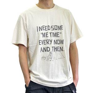 go slow Caravan ゴースローキャラバン ボルダー キャンプおじさん Tシャツ ナチュラル 3サイズ(M) 新品即決 アウトドア キャンプ