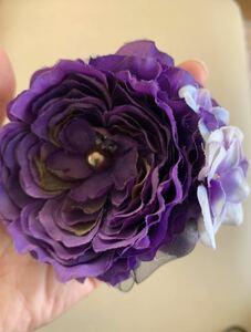 入学式 卒業式 発表会 コサージュ 紫