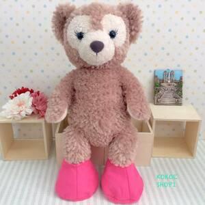 ダッフィー☆シェリーメイ☆フェルト靴(チェリーピンク)☆ハンドメイド 服 靴 コスチューム