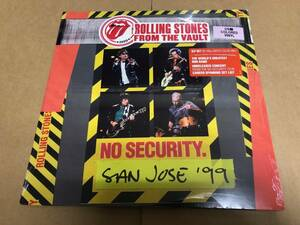 """新品3LPカラーヴァイナル)ROLLING STONES-From The Vault """"NO SECURITY San Jose'99"""" ローリング・ストーンズ"""