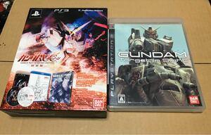 PS3用ソフト ガンダム 2本まとめて