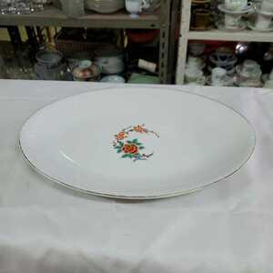 有田焼 深川製磁 深川製 食器 皿 宮内庁御用達 器 和食器 大皿 中古品 おしゃれ かわいい 汚れあり