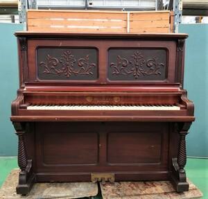 A0001an ALBRECHT&Co. 1876 アンティーク アップライトピアノ