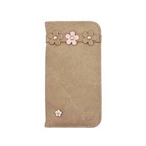 iPod touch 7/iPod touch 6 アイポッドタッチ7/6 手帳型 ケース ベルトなし レザー 花柄 おしゃれ かわいい T.C