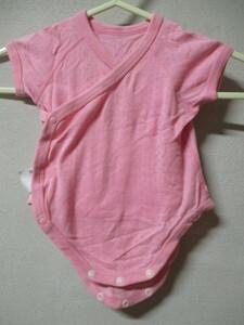【ユニクロ】ラップアップ サイズ60色ピンク身丈41身幅20/JAZ