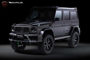 【WALD Black Bison Edition】 Mercedes-Benz Gクラス 3点キット (F, R, OF) 2016y~2018y G350d G550 G63 W463 ゲレンデ ベンツ セット