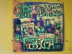 邦 Rebecca / Cheap Hippies 12インチです。