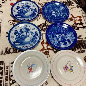 【まとめ売り】 ディズニー お皿 食器 プレート 6枚セット