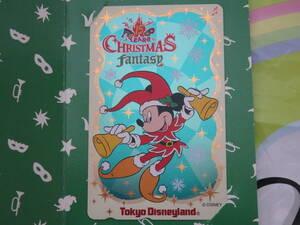 即決☆新品未使用☆東京ディズニーランド 15周年記念 クリスマスファンタジー クリスマス 1998 テレホンカード テレカ♪TDR TDL TDS