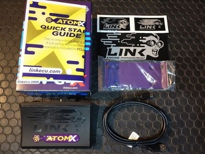 [ stock equipped ]LINK ECU G4X Atom X link Atom full navy blue tuning computer . for new goods