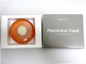 美容石鹸 100g2個 濃縮コラーゲン ヒアルロン酸 ソープ フェミニンキャスト アミノ フルイド サボン 未開封 日本製