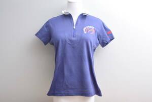 【程度良好 正規品】パーリーゲイツ PEARYGATES マスターバニー エディション レディース ポロシャツ 紺 サイズ1 Mサイズ MBE