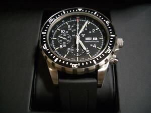 MARATHON マラソン CSAR クロノグラフ 300m トリチウム 軍用時計 Chronograph Automatic 軍用 ミリタリー ルミノックス 米軍