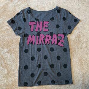 ★ バンドTシャツ The Mirraz(ザ ミイラズ) サイズ M グレー 美品 ツアーグッズ ★