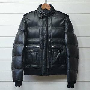 ディオールオム レザー ダウン ジャケット Dior homme|20c0206*B