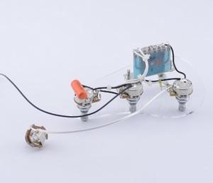 ストラトキャスター コントロールポット セレクターサーキット アッセンブリー一式 エレキギター 交換 修理パーツ 改造カスタム