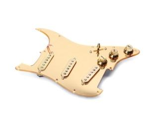 ストラトキャスター ゴールドミラーピックガード 改造 修理 カスタム 交換パーツ stratocaster ストラト エレキギター
