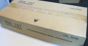 # new goods CRYSTONE Christ -n enhancer DSE-707 unused new goods