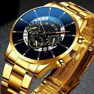 2020 男性のビジネス腕時計シンプルなクラシックカレンダークォーツメッシュベルト腕時計男性時計リロイ hombre レロジオ masculino