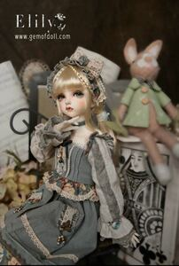 Gem Of Doll ドール bjd 1/4 Elily 球体関節人形