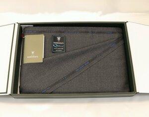 ★ドーメル社の世界最高級「ロイヤルキビック」やや濃いめグレーの無地・服地価格200万円・まるで羽衣