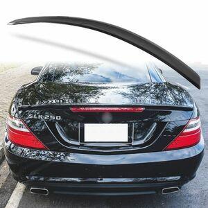 純正色塗装 ABS製 トランクスポイラー メルセデスベンツ SLKクラス R172用 前期 Aタイプ 両面テープ取付 カラーコード:197 MTS-27182