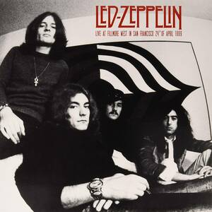 Led Zeppelin - Live At Fillmore West In San Francisco 24th Of April 1969 限定アナログ・レコード