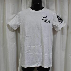 エドハーディー ED HARDY メンズ半袖Tシャツ ホワイト Mサイズ ST300 新品