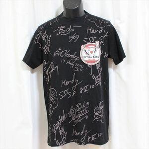 エドハーディー ED HARDY メンズ半袖Tシャツ ブラック Mサイズ NO17 新品