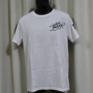 エドハーディー ED HARDY メンズ半袖Tシャツ ホワイト Mサイズ M02RST940 新品 白