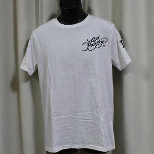 エドハーディー ED HARDY メンズ半袖Tシャツ ホワイト Lサイズ M02RST940 新品 白