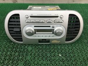 MRワゴン MF22S 純正デッキ 純正オーディオ 純正カーオーディオ CD/MD/FM/AM CDデッキ MG22S