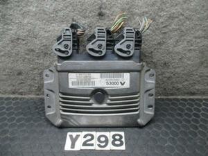 Renault Megane RS MF4R2 engine computer -CPU F4R2 8200509963 No.Y298