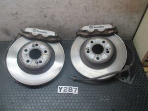 Renault Megane RS MF4R2 left right front Brembo caliper brake disk disk brake rotor No.Y287