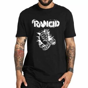 RANCID バンド Tシャツ バンT ランシド 半袖Tシャツ Tee 海外限定