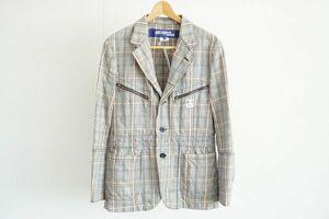 KK【即決】ジュンヤワタナベマン 2005 COMME des GARCONS JUNYA WATANABE MAN メンズ ジャケット チェック サイズSS 【604208】