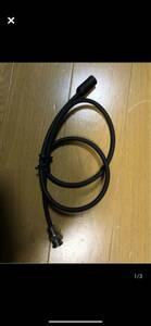 アマチュア無線  N型プラグ テレビアンテナ変換コード.