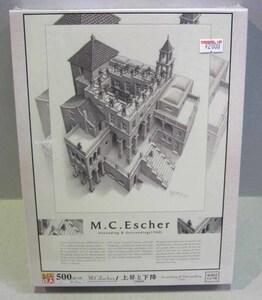 ☆人気作品 M.C.エッシャー 上昇と下降(1960) 500ピース