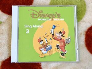CDディズニー英語システムDWEシングアロング 3 Sing along3ワールドファミリー