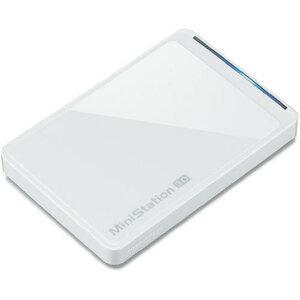 * new goods unopened BUFFALO Buffalo portable hard disk HD-PCT500U3-WC[ turbo PC EX2 correspondence USB3.0 for / gloss slim /500GB] 1 point limit