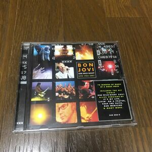 Bon Jovi One Wild Night: Live 1985-2001 EU盤CD