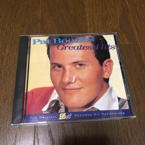 パット・ブーン グレイテスト・ヒッツ 国内盤CD