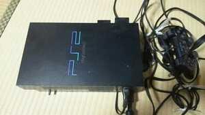 プレステ2 本体ケーブルコントローラーメモリーカードセット 送料込み