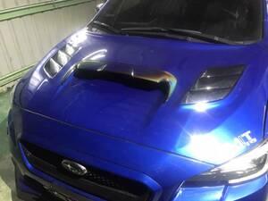 カメレオン色塗装 スバル フロント ボンネット エア スクープ カバー フレーム WRX STI レヴォーグ ワゴン VM4/VMG 2015-2020 V2
