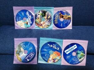 在庫なくなり次第終了 ディズニー Blu-ray 国内正規品 未再生 6点セット