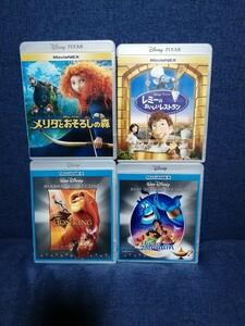 ディズニー Blu-ray 4点セット 純正ケース付き 国内正規品 未再生