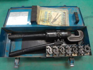 ■IZUMI イズミ 手動油圧式圧着工具 15号 泉精器 T型コネクタ用 【8】